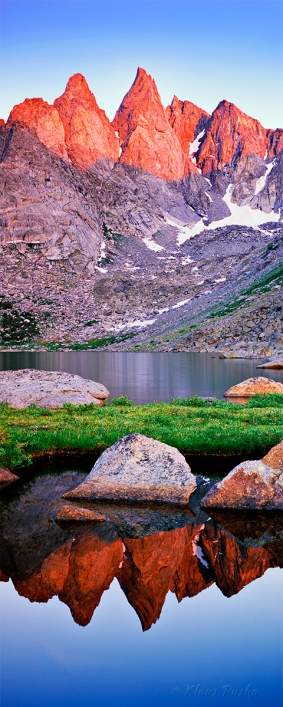 Alpen Glow of The Winds - Wind River Range, Wyoming