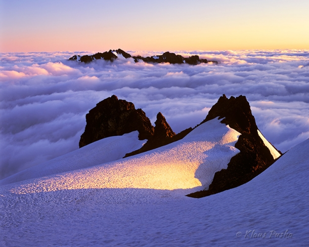 Sea of Clouds - North Cascades National Park, Washington
