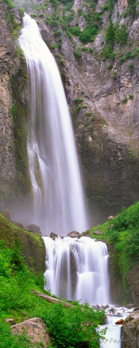 Comet Falls - Mount Rainier National Park, Washington