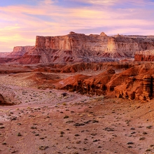 Reds Canyon Dawn - San Rafael Swell, Utah