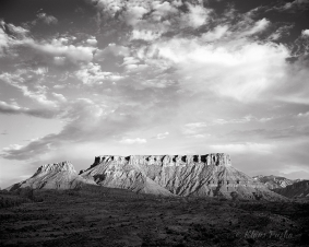 Fisher Mesa Evening Sky - Richardson Amphitheater, Utah
