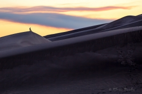 Sunset On Sand - Great Sand Dunes National Park, Colorado