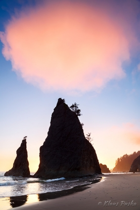 Balance Point - Olympic National Park, Washington