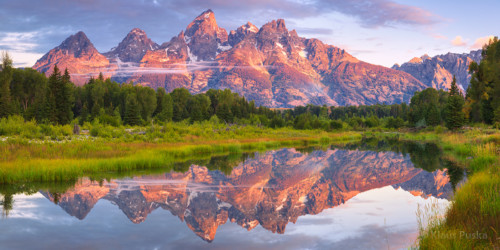 Teton Reflection - Grand Teton National Park, Wyoming
