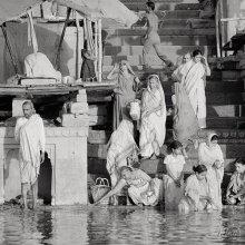 Dawn on the Ganges - Varanasi, India