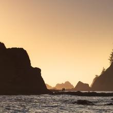 Rialto Sunset - Olympic National Park, Washington