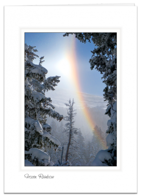 Frozen Rainbow - Front Range, Colorado