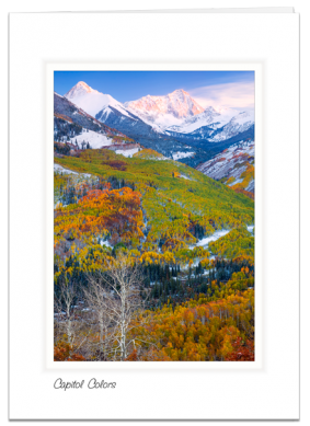 Capitol Colors - Elk Mountains, Colorado