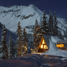 Radiant Winter Cabin - Colorado