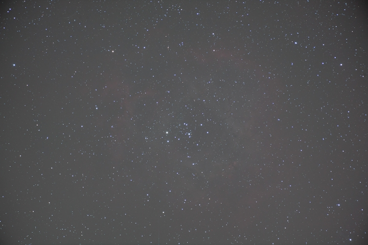Rosette Nebula Single Frame RAW