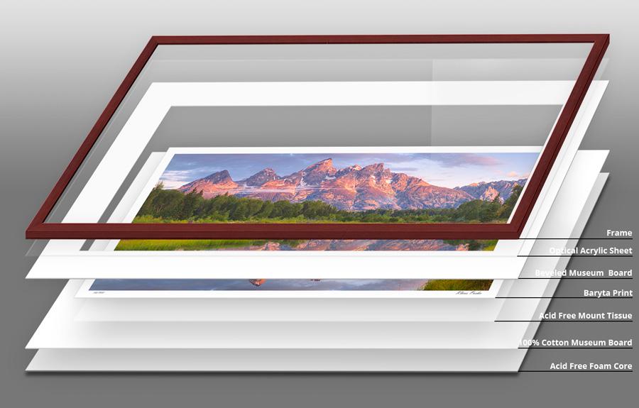 Framing - Nature Windows Photography - Fine Art by Klaus Puska