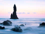 Sea Stack Pastels - Iceland