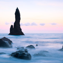 Sea Stack Pastels - Iceland