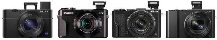 Large Sensor Compact Cameras
