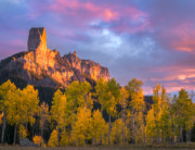 Chimney Rock Sunset - Colorado