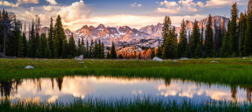 Heart of the Winds - Wind River Range, Wyoming