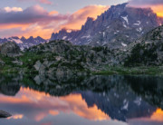 Titcomb Reflection - Wind River Range, Wyoming