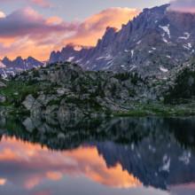 Titcomb Reflection - Wind River Range, Wyoming