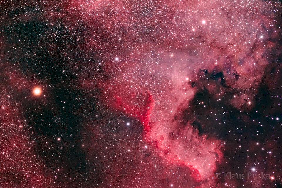 North America Nebula Astrophoto Nature Windows